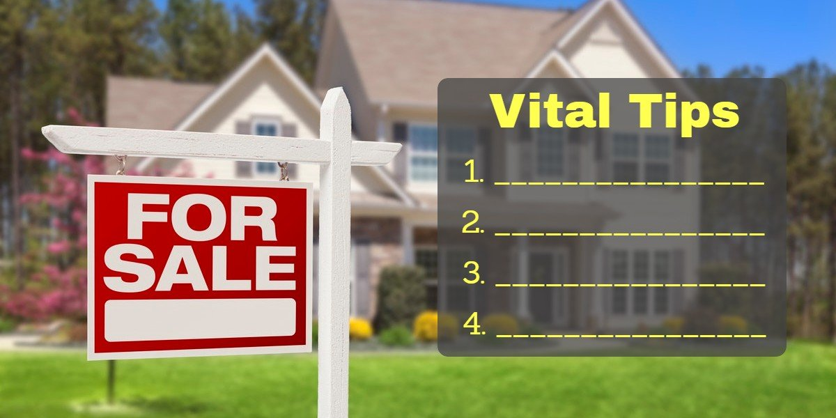 sell my home fast | for sale sign vital tips