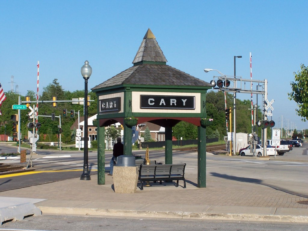 Cary IL city sign, on the sell your house fast in Cary page