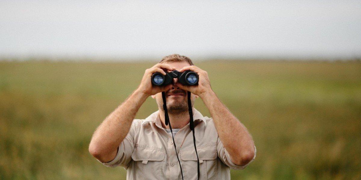 finding acreage for sale in | binoculars