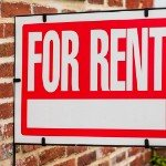 owning a rental | for rent sign