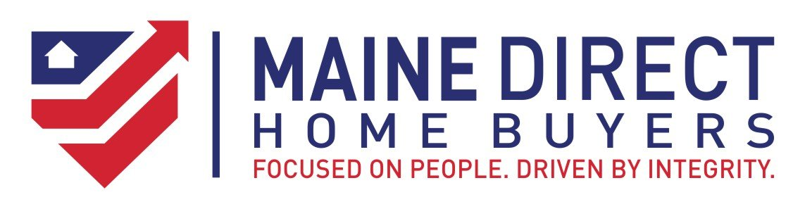 we buy houses Lewiston ME | logo