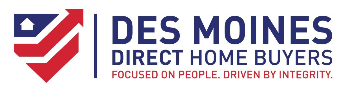 we buy houses Des Moines IA | logo