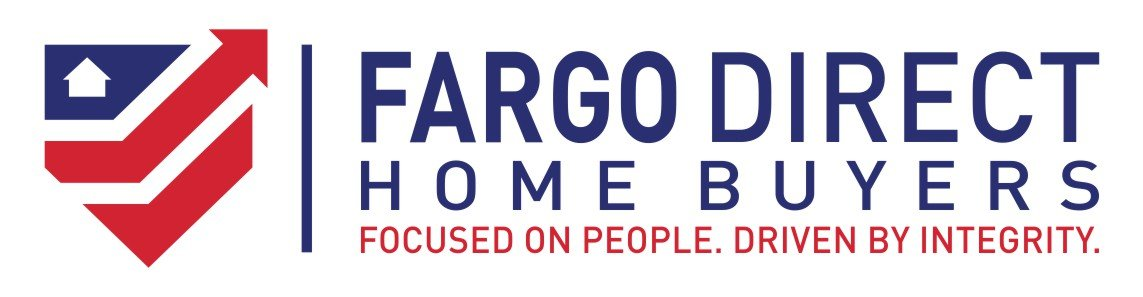 we buy houses Fargo ND | logo