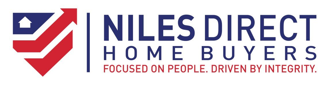 we buy houses Niles MI | logo