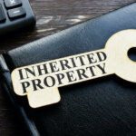 Inherited property phrase on the wooden key
