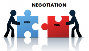 Buyer & Seller Negotiation of terms of the transaction financing