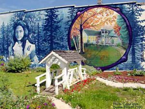 Opal Whiteley Cottage Grove Oregon Mural Main St