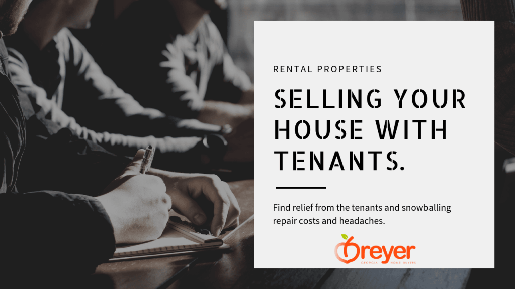 Sell a House with Tenants Atlanta Marietta Sandy Springs Roswell Stone Mountain Decatur Lithonia Lawrenceville GA Georgia