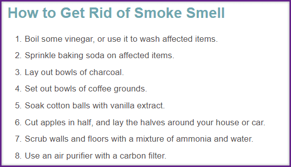 How to Get Rid of Cigarette Smoke Smell In My House Stinky Reasons Your Home Isn't Selling