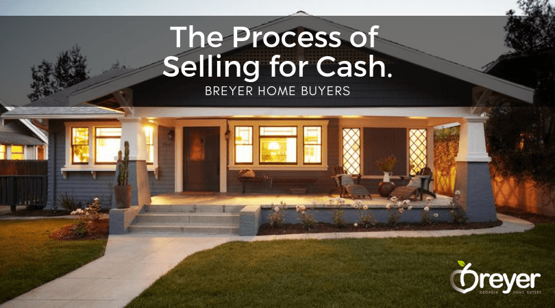 Process of Selling a Home For Cash Atlanta