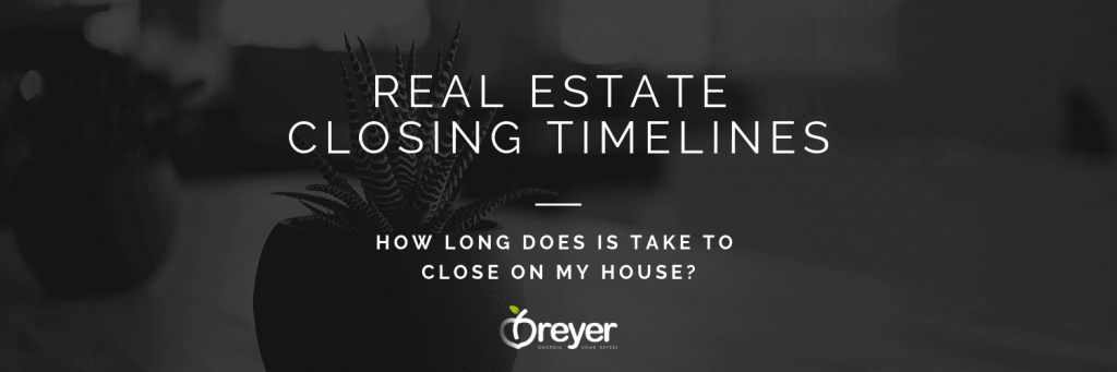What is the Standard Real Estate Closing Timeline in Atlanta