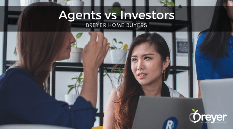 Hiring an Agent - Real Estate Agents vs Cash Home Buyers - Atlanta