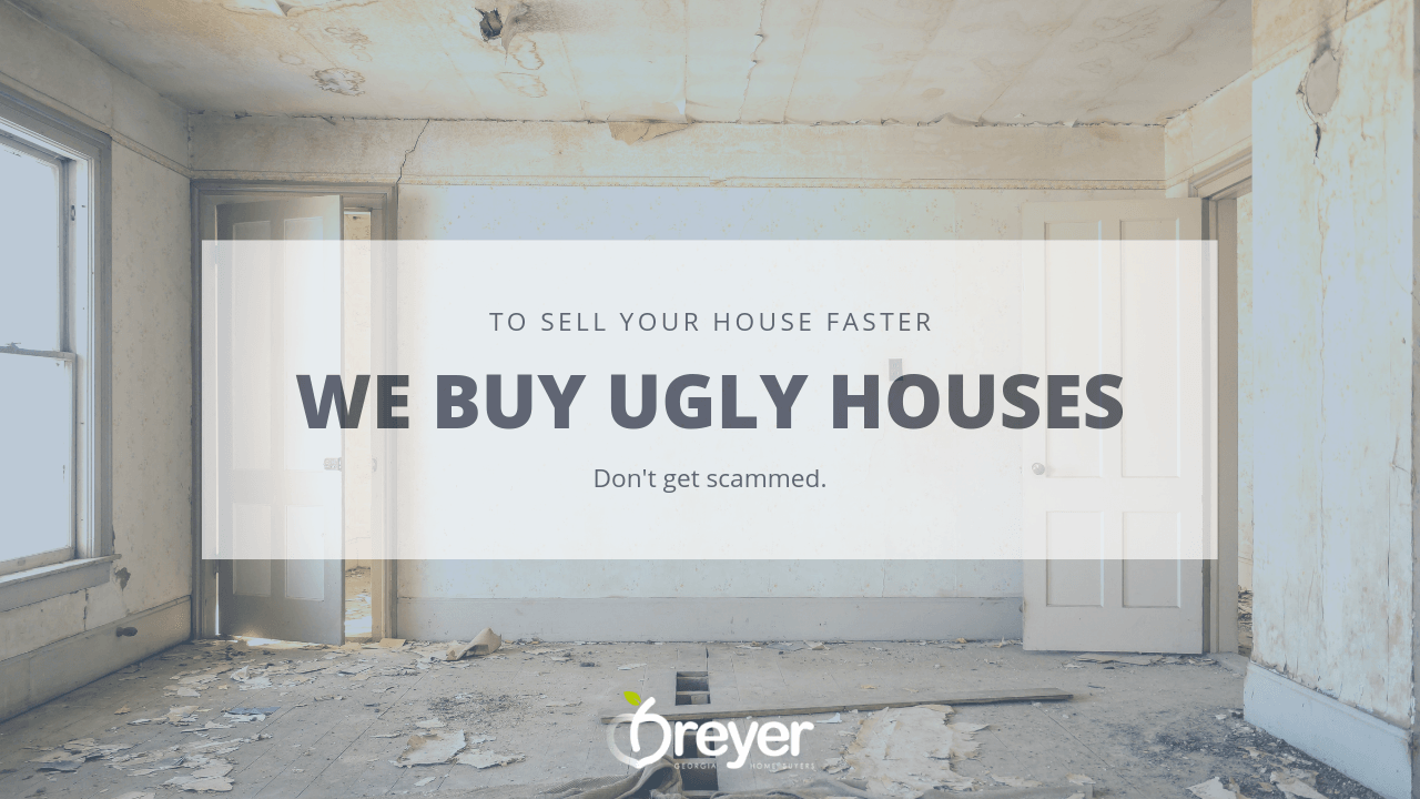 We Buy Ugly Houses Atlanta Georgia