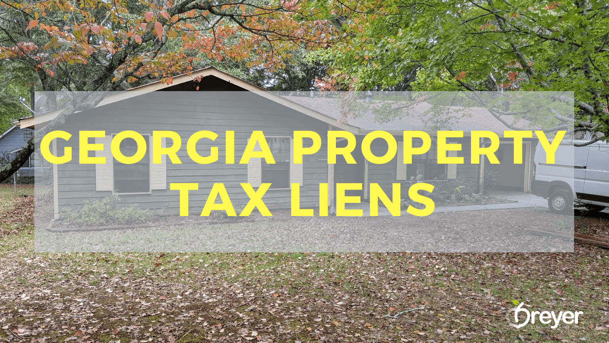 Georgia Property Tax Liens
