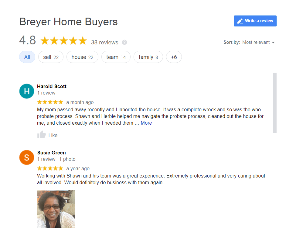 Companies That Buy Houses Reviews - Sell My House Fast - Cash For Houses - Buy My House - We Buy Houses For Cash