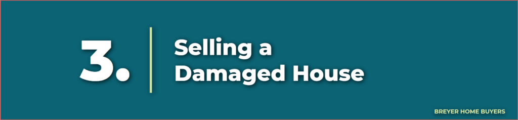damaged house - selling a house as is - as is home buyers - selling a house with foundation repairs - sell home as is