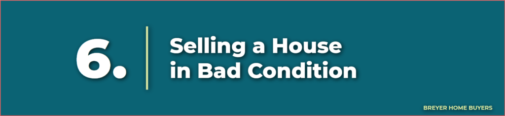 selling a house in bad condition - selling your home as is - sell a house as is - how to sell a fixer upper