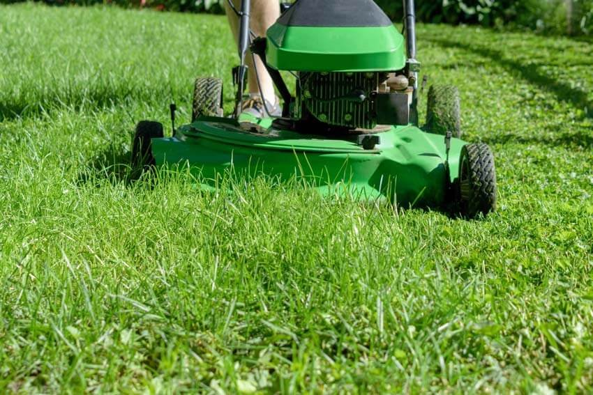 mowing your lawn can be an easy step, as well as some basic repairs to the immediate exterior.