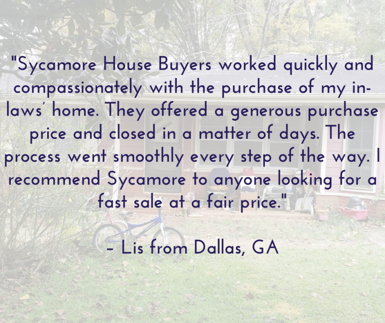 We Buy Houses Fast from Homeowners