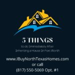inheriting a house in weatherford