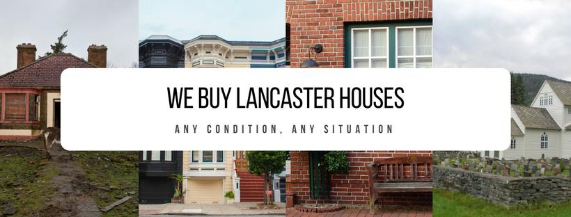 We Buy Lancaster Houses Facebook Banner