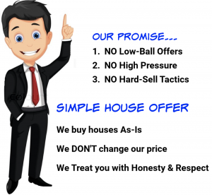 Our Promise No Pressure - We Buy Houses