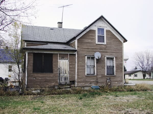 house with termite damage for sale