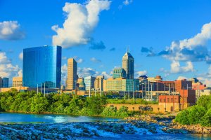Indianapolis Skyline Indiana Home Buyers