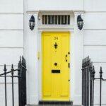 Curb Appeal Yellow Door NJ