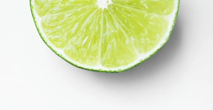 Picture of fresh lime used to prep a house for sale.