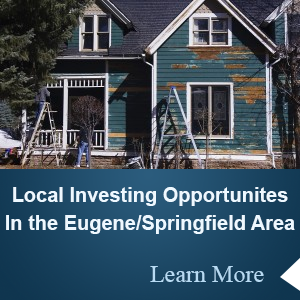 Buying investment properties Eugene Oregon
