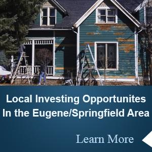 Buying investment properties Eugene Oregon