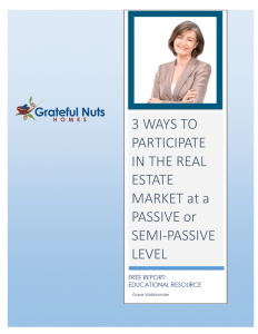 Download Your Free Guide for Passive Real Estate Investing Now!