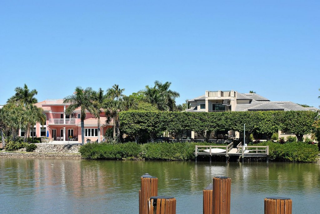 a bay in Naples FL