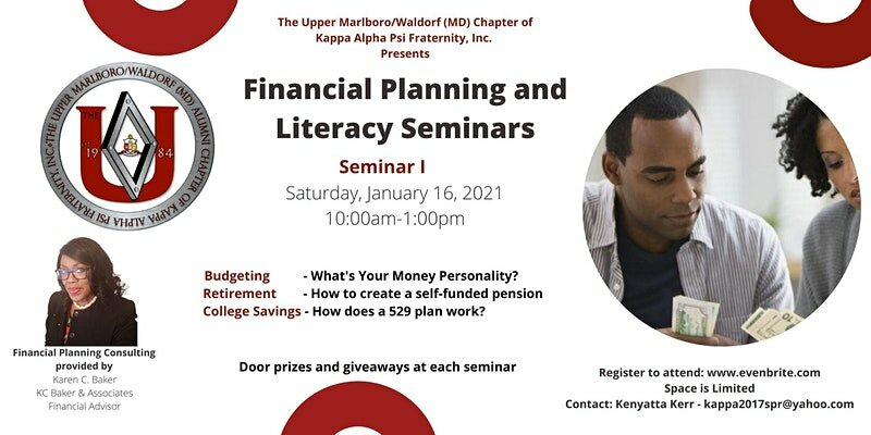 Financial Planning and Literacy Seminars Session 1
