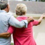 Can you get your house in | old couple woman pointing