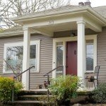 Can a house be sold while in probate in | home front view
