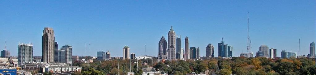 Atlanta GA skyline - on the sell your house fast in Atlanta page