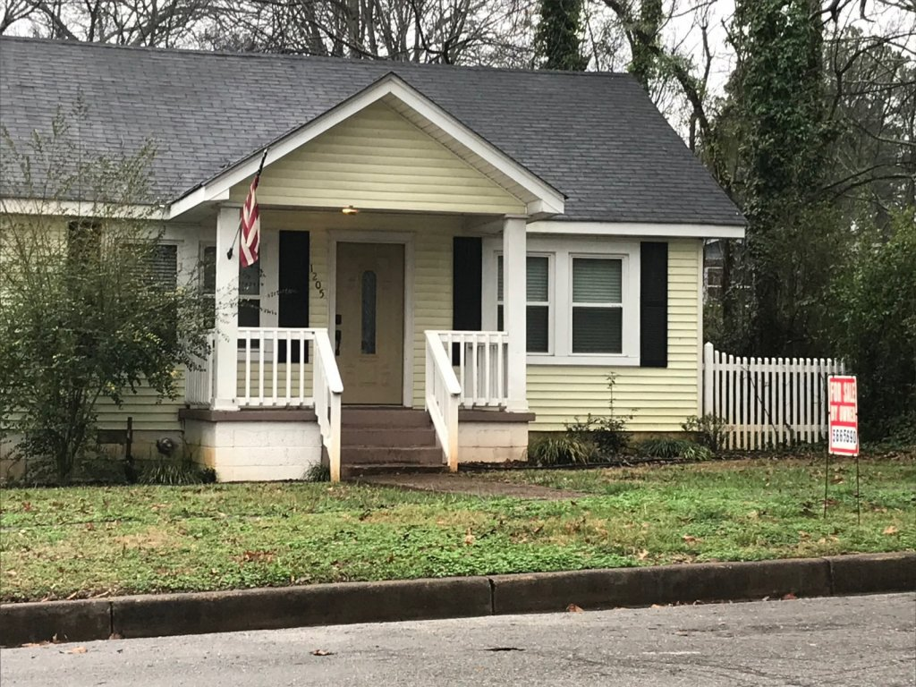 A house we bought on the sell your house fast in Chattanooga TN page