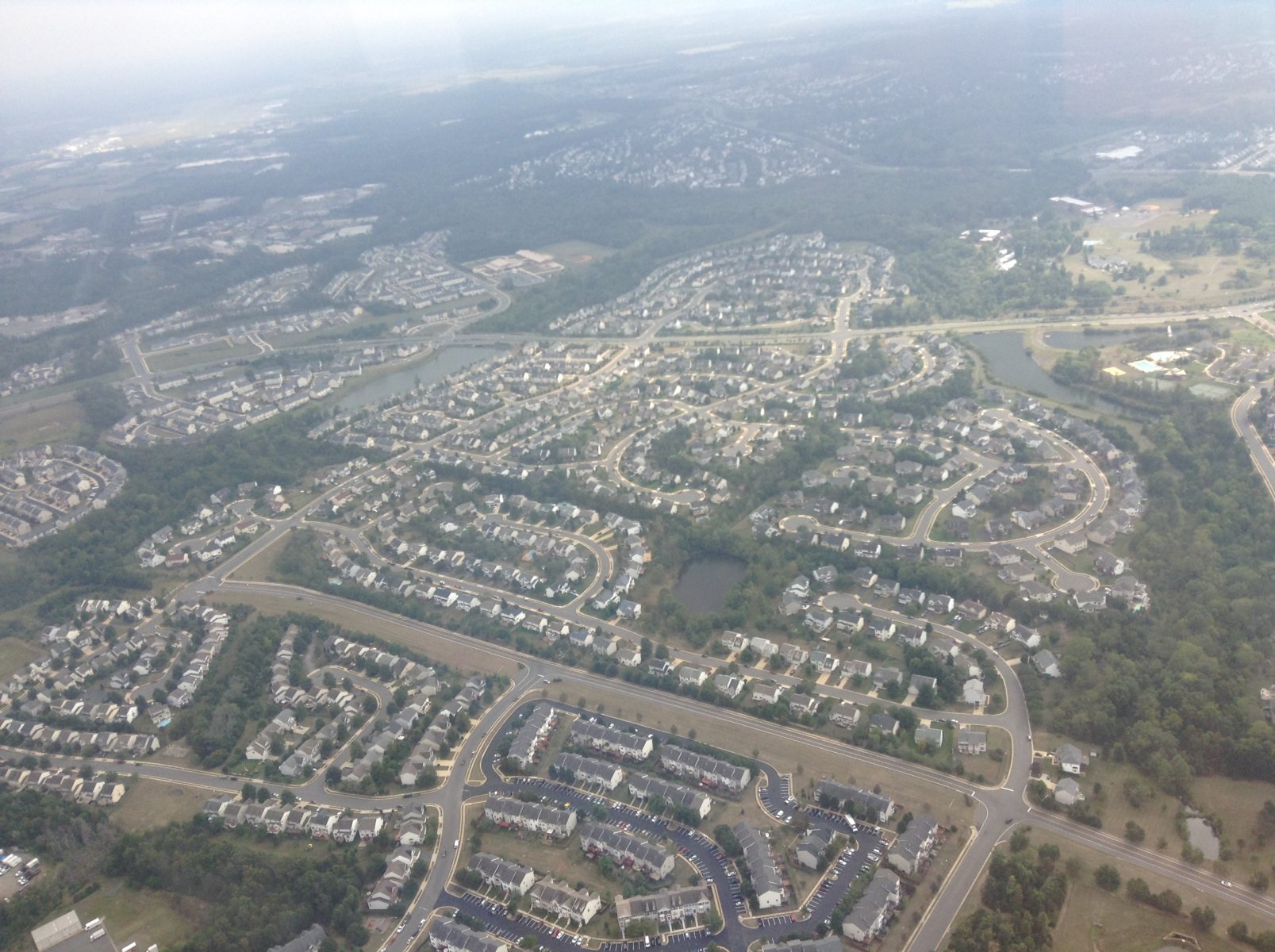 Bristow VA arial view - on the sell your house fast in Bristow VA page