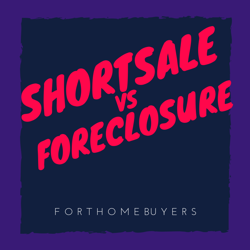 Sell house fast vs Foreclosure