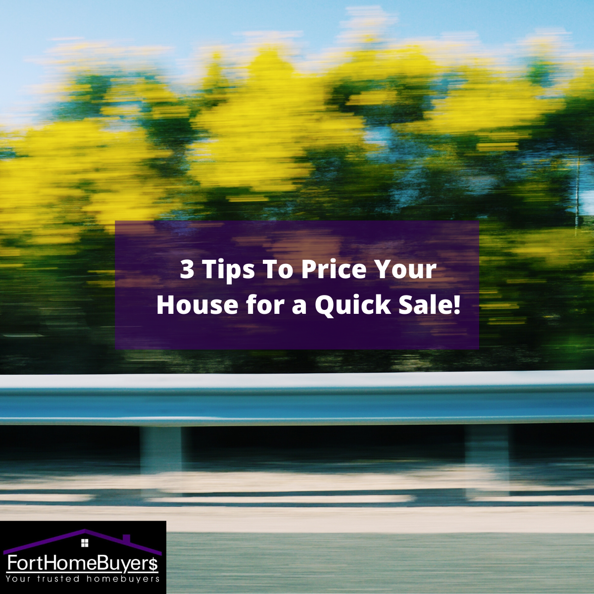 3 Tips To Price and sell your house for a Quick Sale!