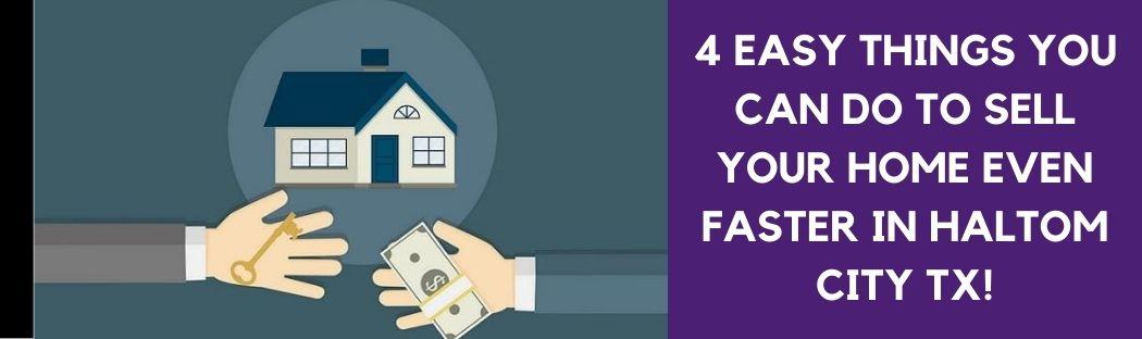 cash for homes in Haltom City TX