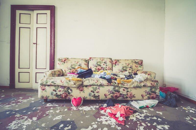 Rental property in Nebraska trashed after tenants moved out
