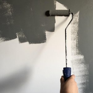 Painting wall to get ready to sell a house