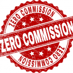 a professional home buyer logo that says zero commission