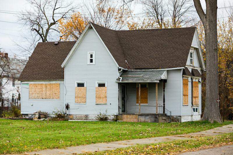 house in probate in Lincoln, Nebraska