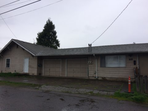Newly Acquired Duplex in the affordable housing area of Springfield, Oregon is not ready for market yet.