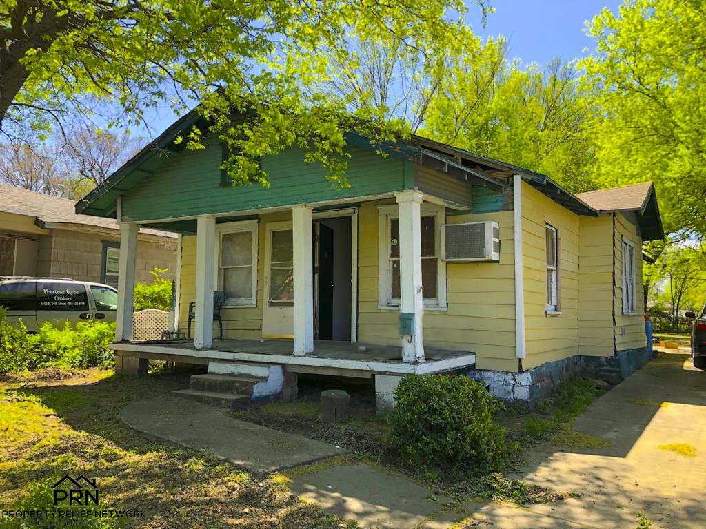 Discounted Tulsa Property - side