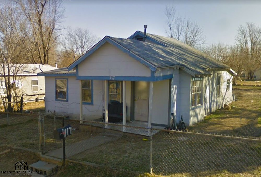 S 54th W Ave Tulsa - front sideview
